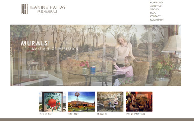 Jeanine Hattas Website