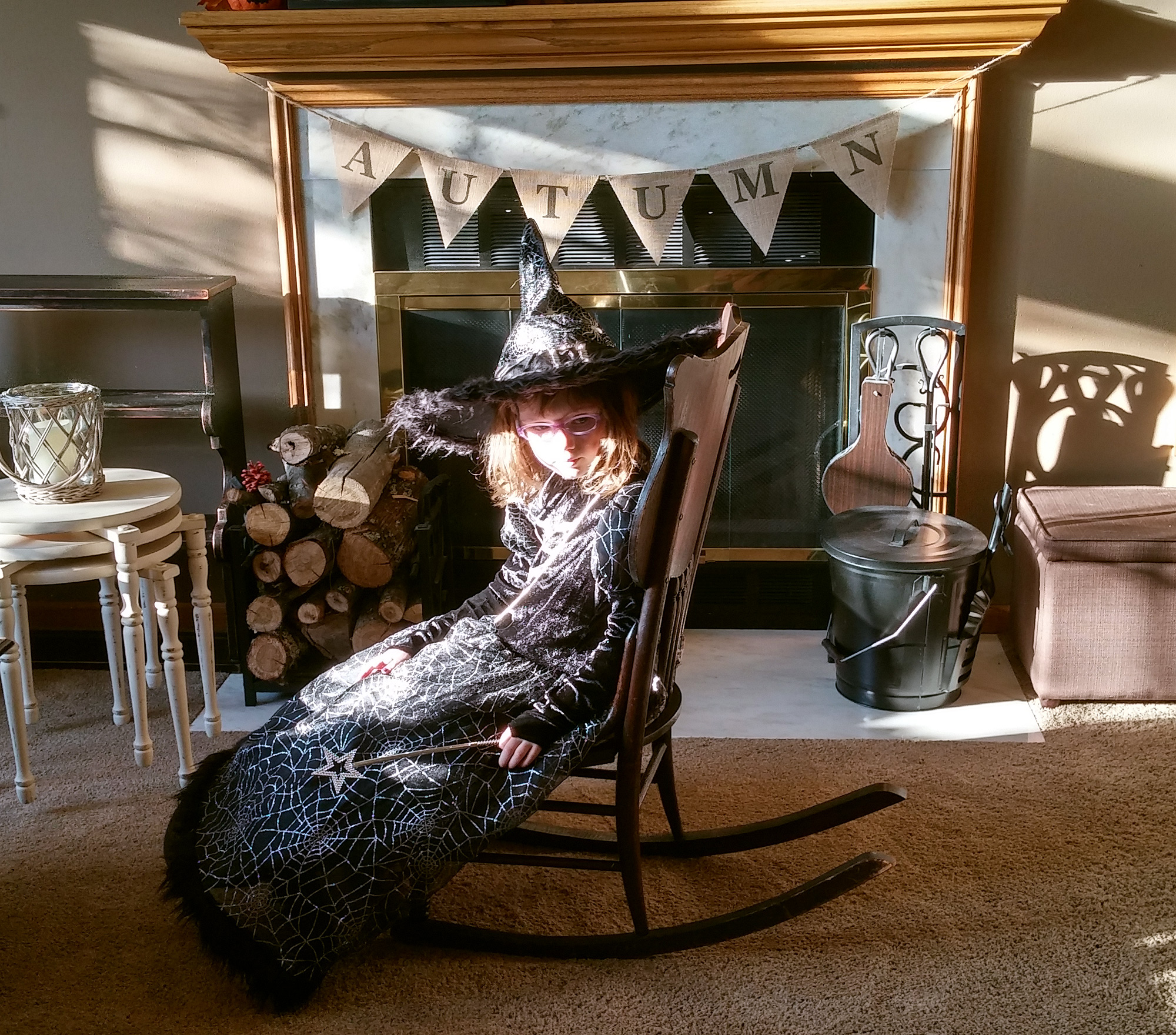 Witch, in Repose, October 2014